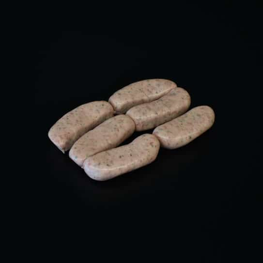 Pork: Sheering Sausages - Pack of 6