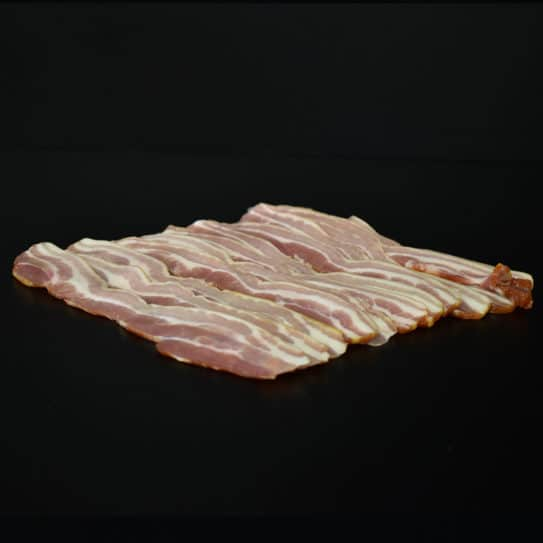 Pork: Smoked Steaky Bacon