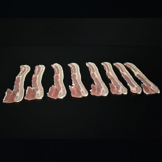 Pork: Unsmoked Streaky Bacon