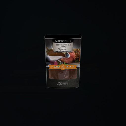 Atkins & Potts Beef, Red Wine & Thyme Gravy
