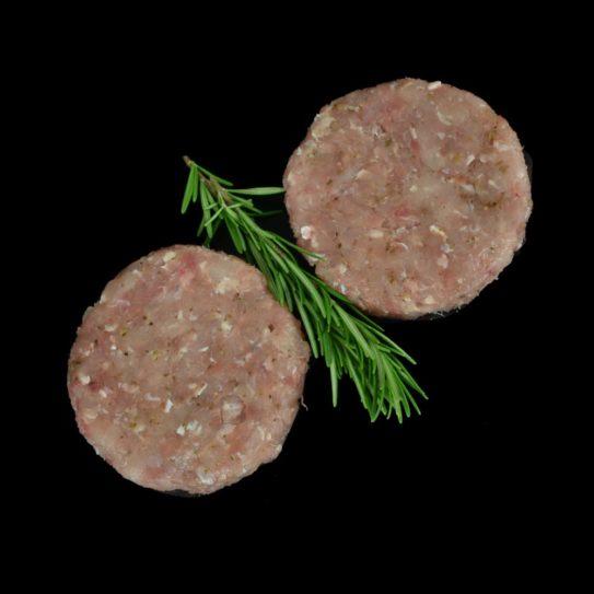 Sutton Hoo Free Range Chicken & Herb Burgers