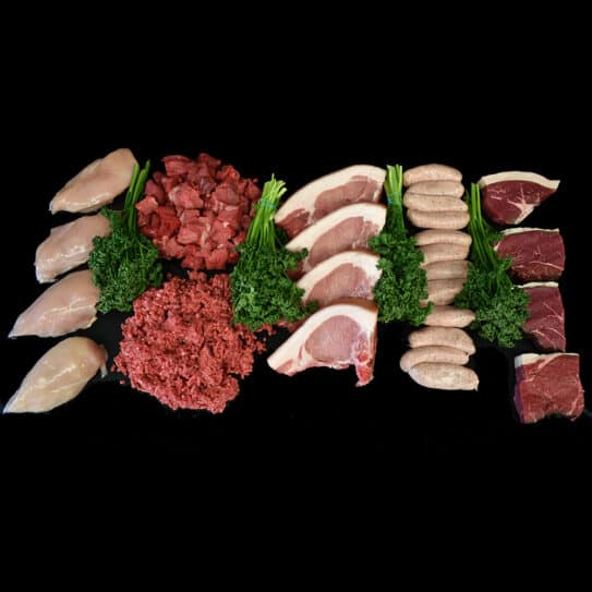 The Survival Meat Box from Meat & Cleaver