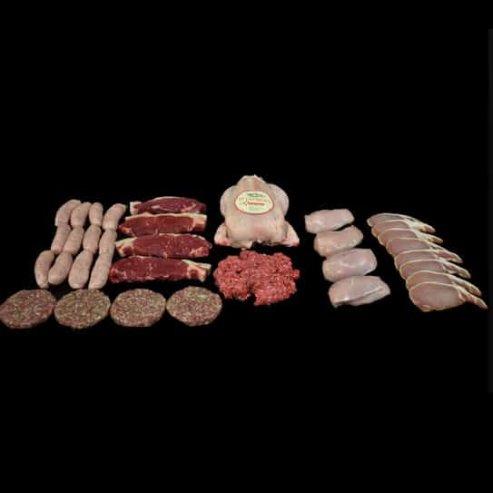 Extra Large Family Essentials Meat Box Subscription