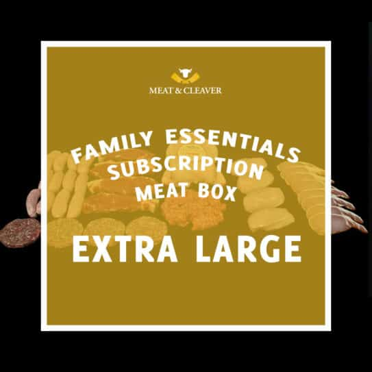 Family Essentials Subscription Meat Box - Extra Large
