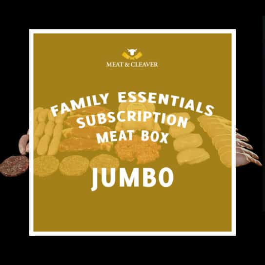 Family Essentials Subscription Meat Box - Jumbo