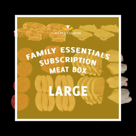 Family Essentials Subscription Meat Box - Large