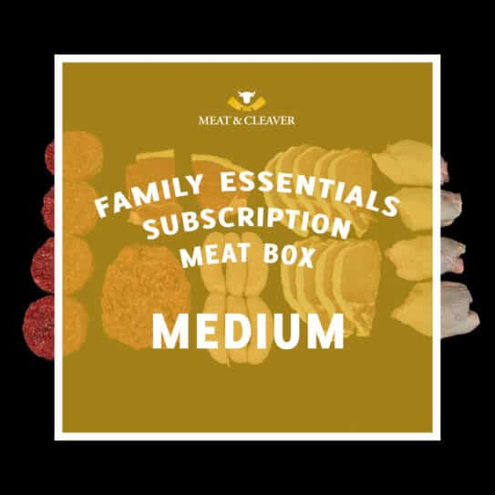 Family Essentials Subscription Meat Box - Medium