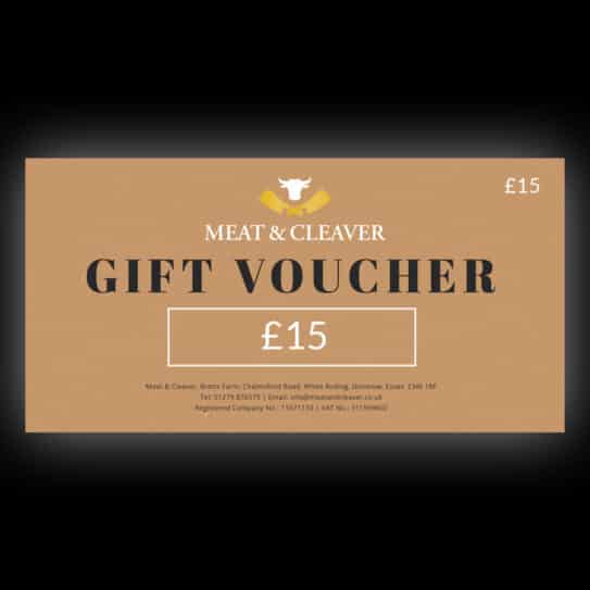 Meat & Cleaver £15 Gift Voucher