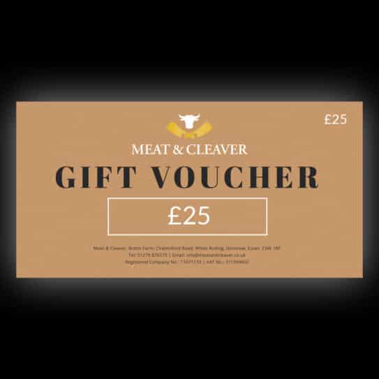 Meat & Cleaver £25 Gift Voucher