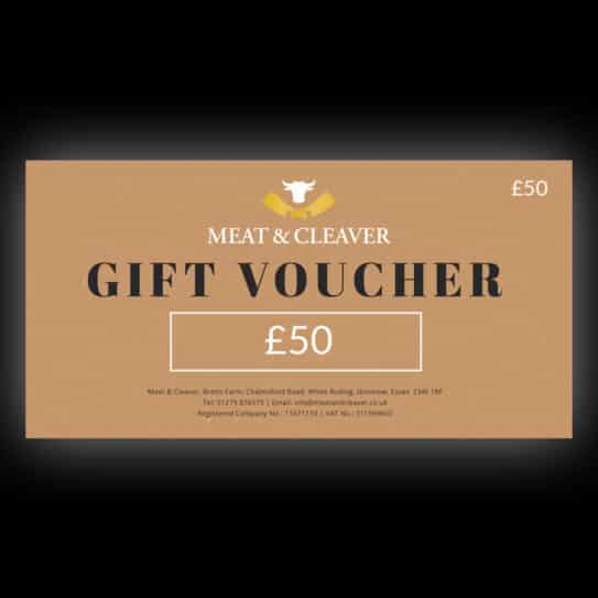 Meat & Cleaver £50 Gift Voucher