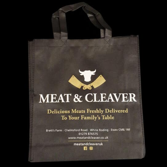 Meat & Cleaver Bag for Life