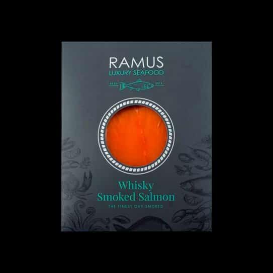 Whisky Smoked Salmon from Ramus Luxury Seafood