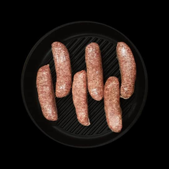Minty Lamb & Cracked Pepper Sausages