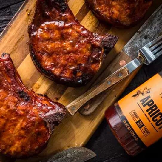 Traeger Apricot BBQ Sauce