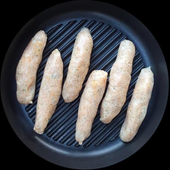 Suffolk Chicken & Apricot Sausages
