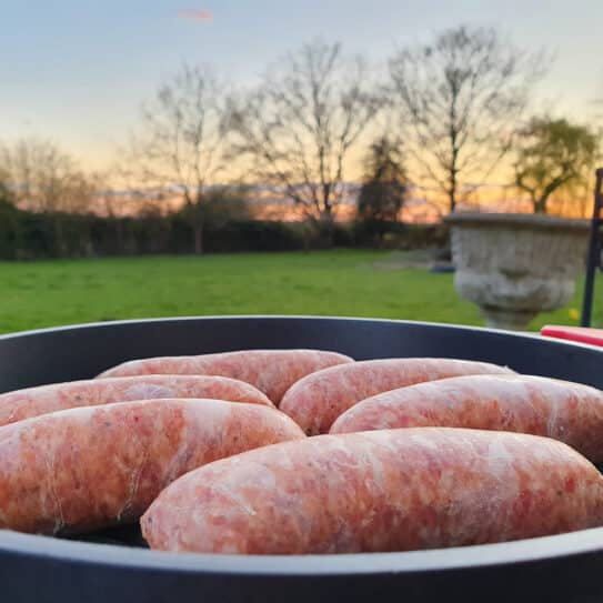 6 Fennel, Garlic & Chilli Pork Sausages