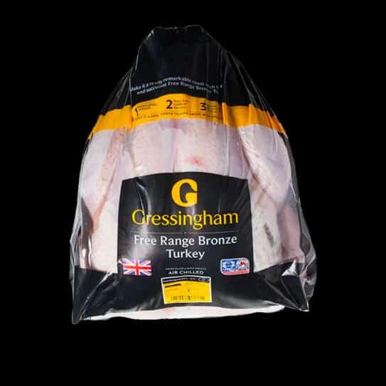Gressingham Organic Free Range Bronze Turkey